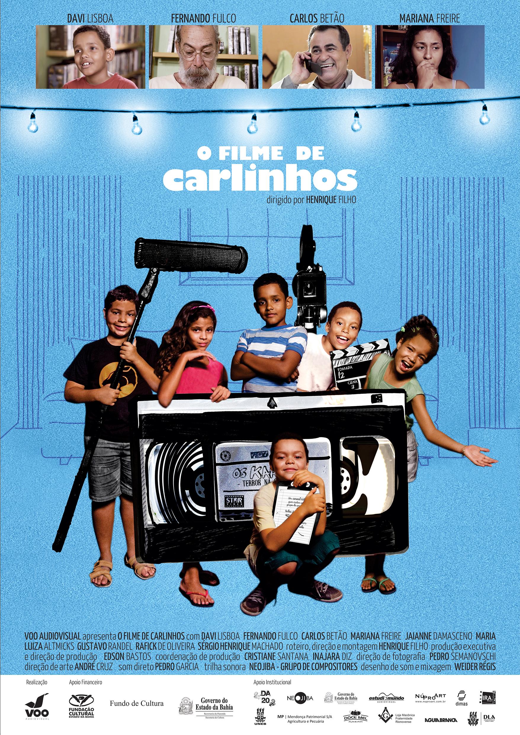 Cartaz – O filme de Carlinhos 4