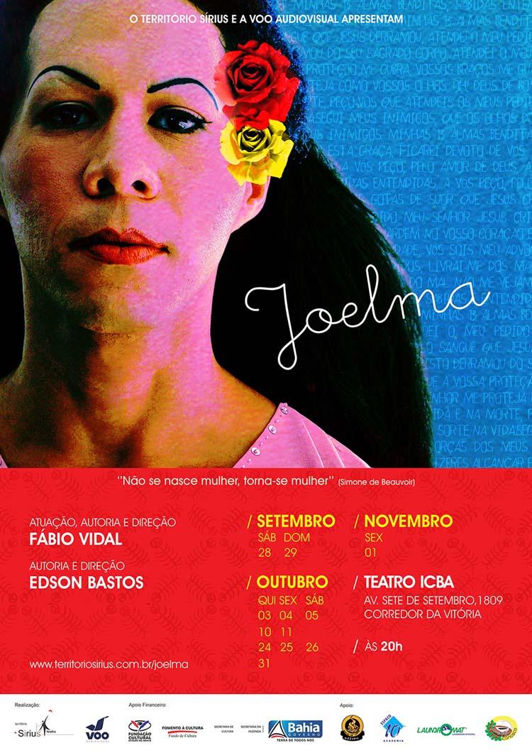 Cartaz – Joelma Teatro